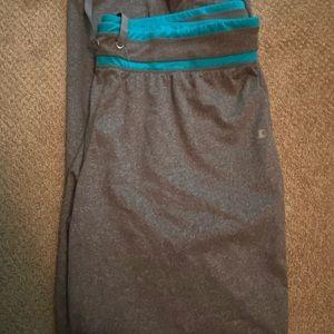 Women' Champion Grey Yoga Pants 2XL